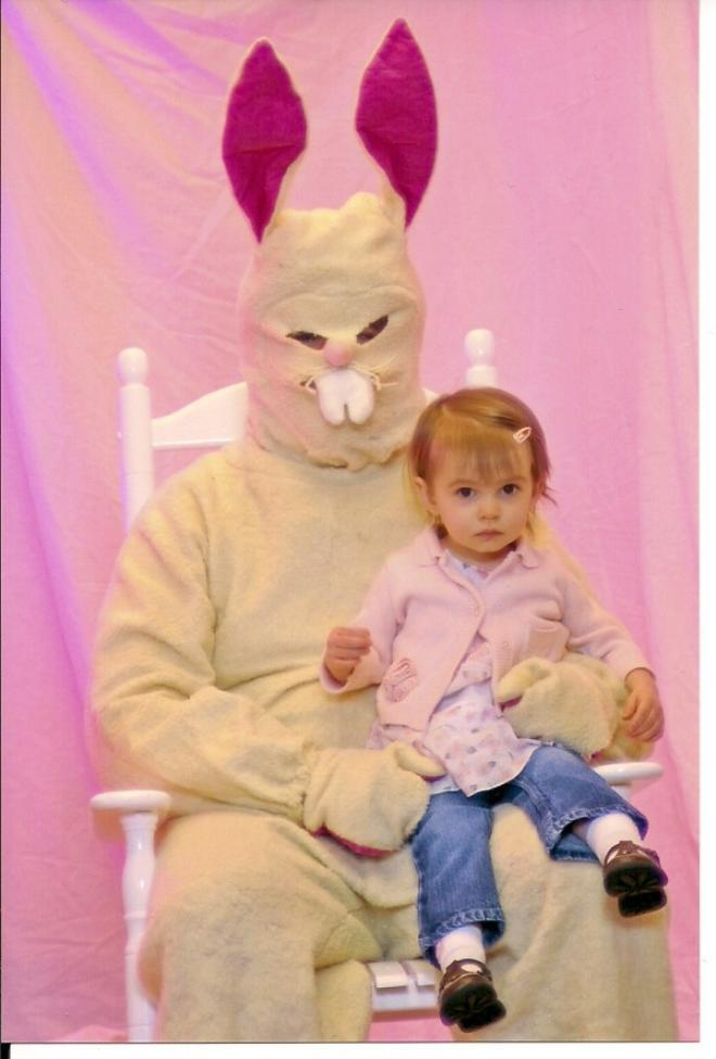 20 Creepy and Disturbing Easter Bunny Photos | Riot Daily