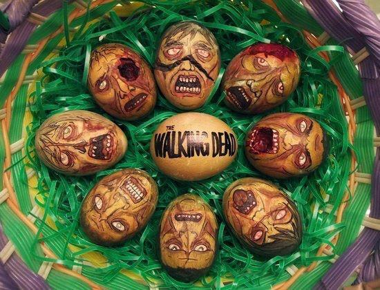 walking dead-zombie-easter-eggs