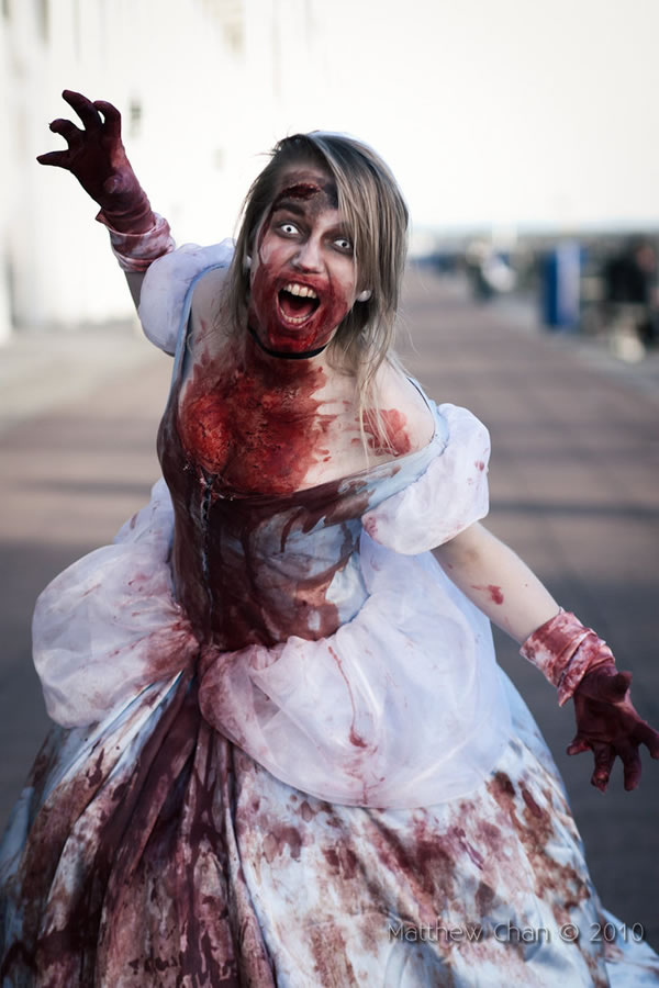 Beautifully Gruesome Zombie Disney PrincessesZombie Disney Princesses