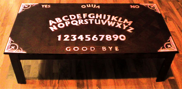 ouija board homemade instructions