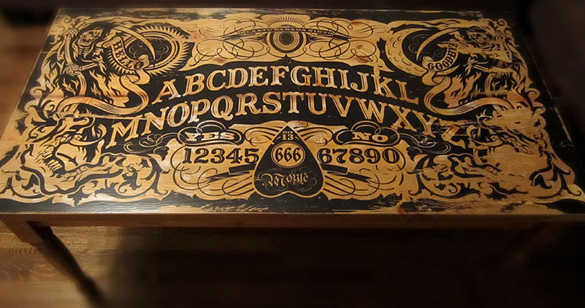 Quot Don T Play It Alone Quot 16 Ouija Board Inspired Tables