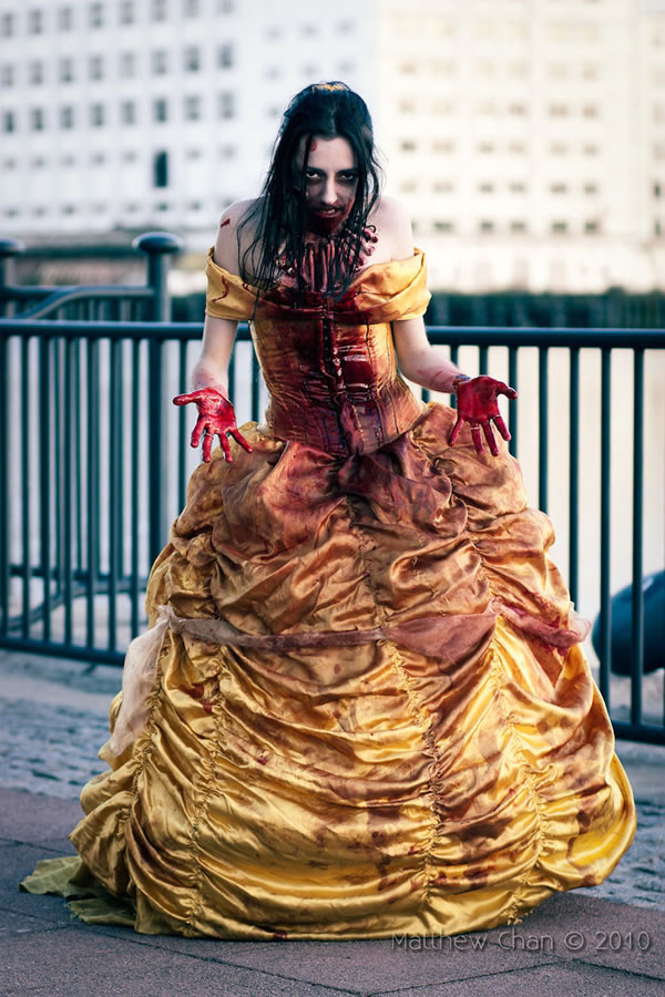 3 Beautifully Gruesome Zombie Disney Princesses | Riot Daily