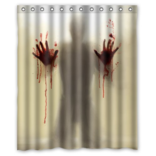 21 Horror Inspired Shower Curtains To Creep Up Your Home