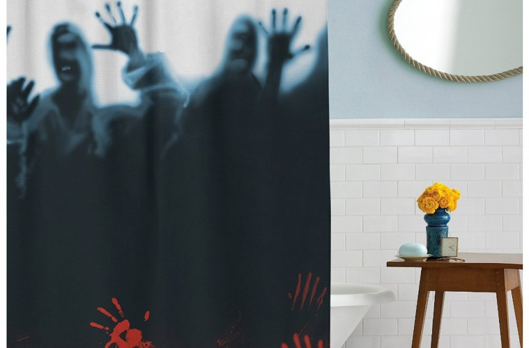 17 Horror Inspired Shower Curtains To Creep Up Your Home