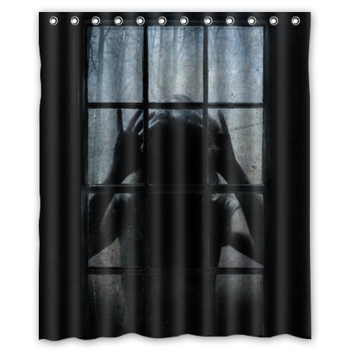 Zombie_looking_in_shower_Curtain