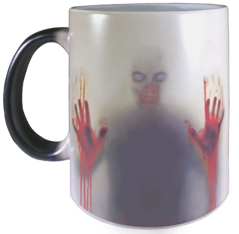 Zombie Ceramic Heat Sensitive Color Changing Mug Cup