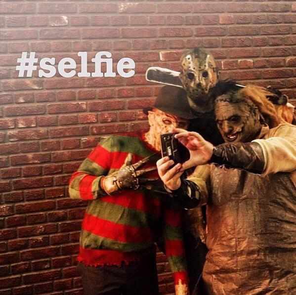 horror-selfie