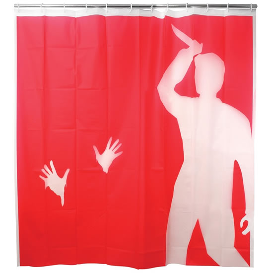 Psycho Slasher Shower Curtain