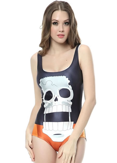 skull_bathing suit