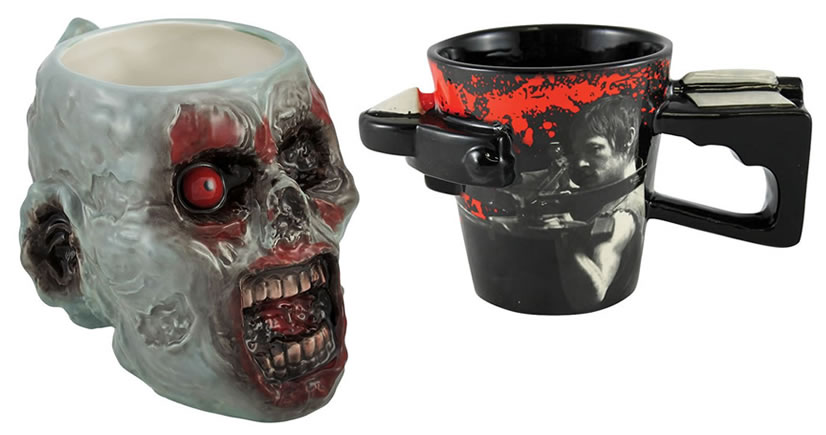 12 Zombie Coffee Mugs To Bring You Back From The Dead