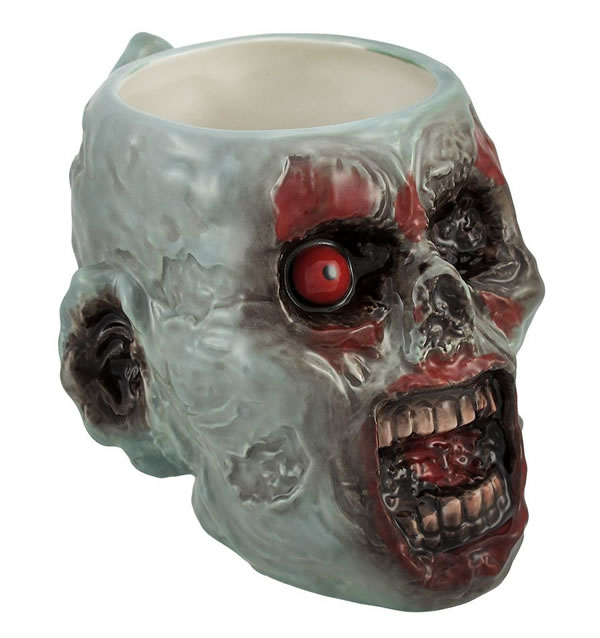 Decaying Zombie Ceramic Mug