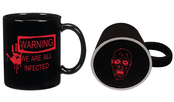 Warning We Are All Infected Zombie Coffee Mug